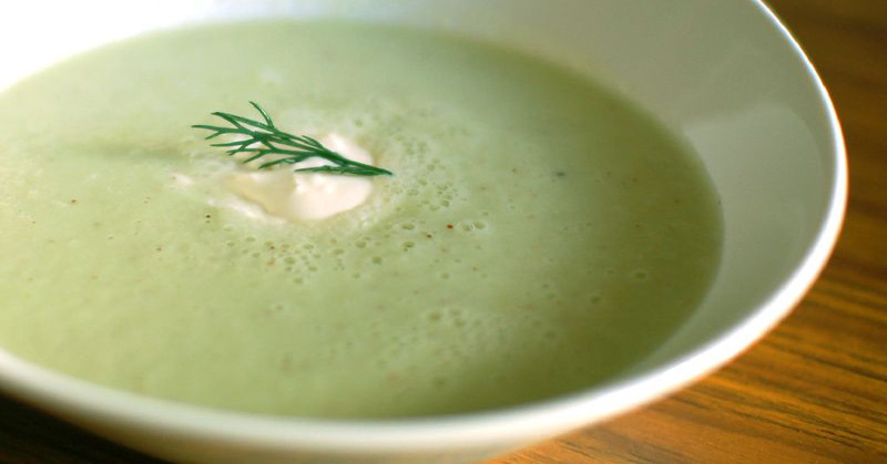 recipe: cucumber mint soup [20]