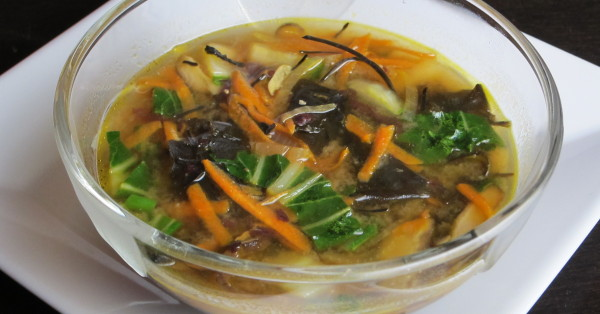 Healing Foods: Hearty Miso Soup