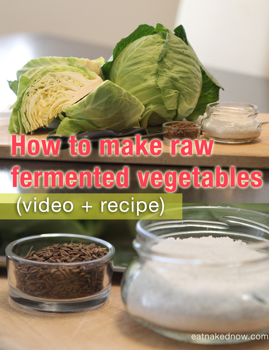 how to make raw cultured veg | eatnakednow.com