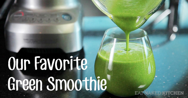 Drink your salad: our favorite green smoothie recipe