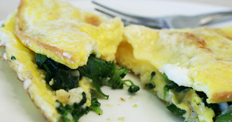 How to make the perfect omelet | eatnakednow.com