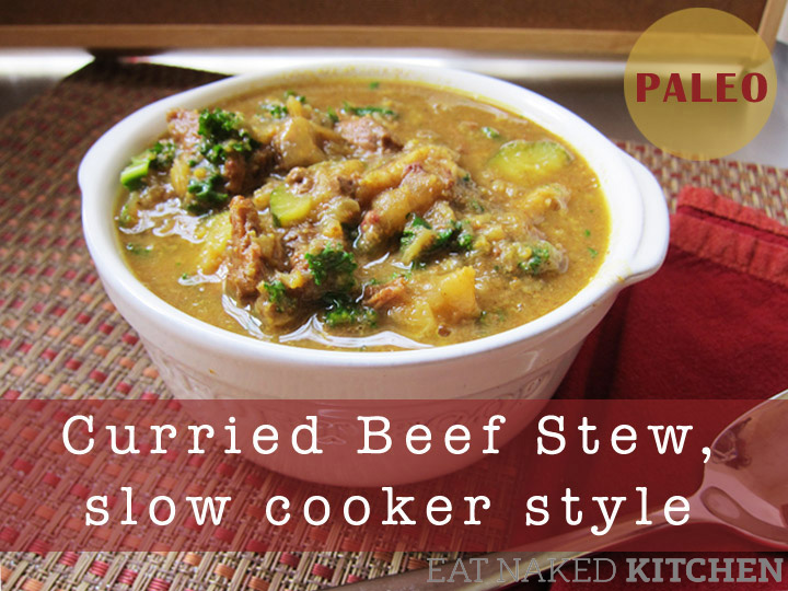 Paleo Curried Beef Stew, Slow-Cooker Style