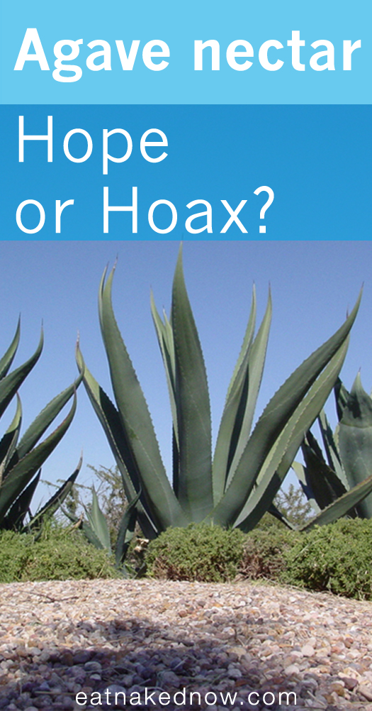 Agave-- Hope or Hoax | eatnakednow.com