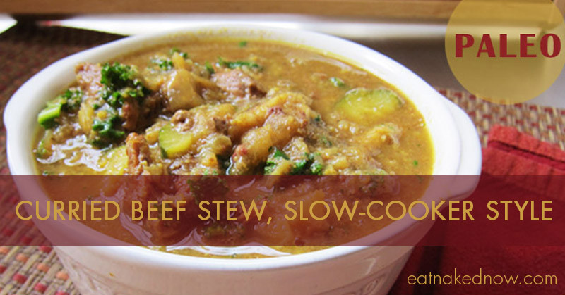 Paleo Curried Beef Stew in the Slow Cooker | Eatnakednow.com