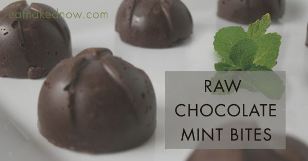 Raw Chocolate Mint Bites [30 Days in the Raw] | eatnakednow.com