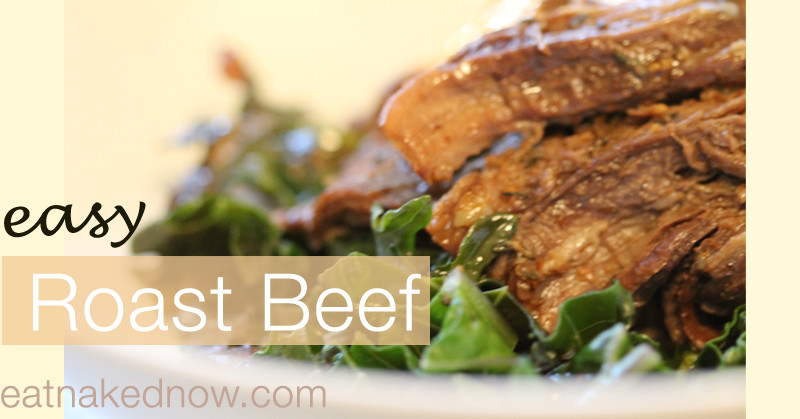 Easy Roast Beef in the Slow Cooker | Eatnakednow.com