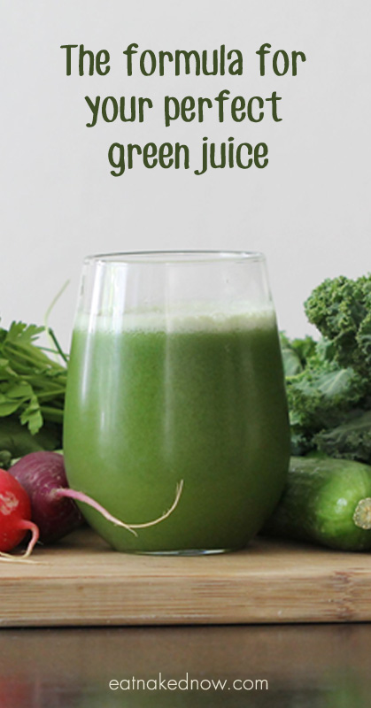 The formula for your perfect green juice | eatnakednow.com