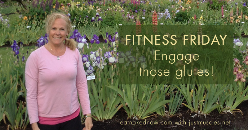 Fitness Fridays with Laura Coleman: Engage those glutes! | eatnakednow.com