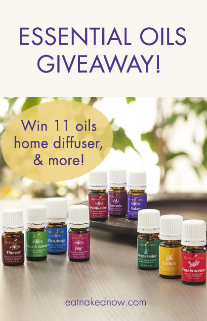 Enter to win an essential oil starter kit here! | eatnakednow.com