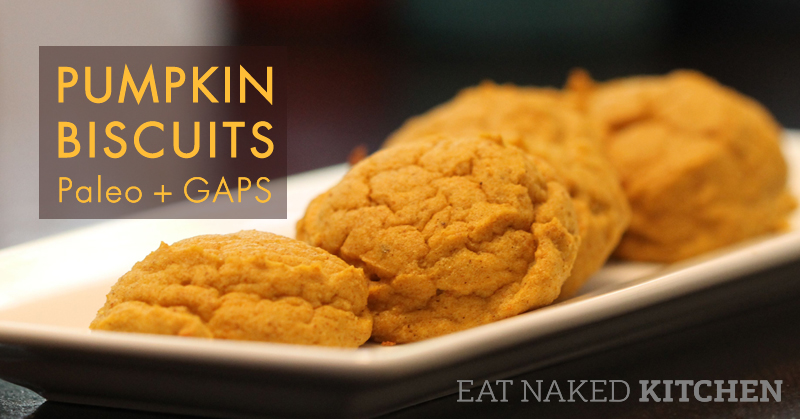 Pumpkin Biscuits – Paleo, GAPS and SCD approved