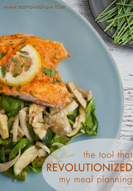 the tool that revolutionized my meal planning | eatnakednow.com