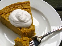 Crustless Butternut Squash Pie