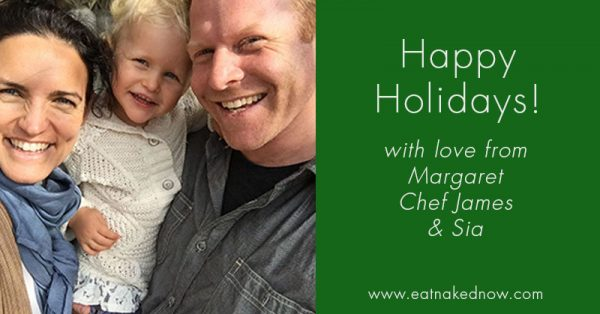 Holiday greetings from Eat Naked