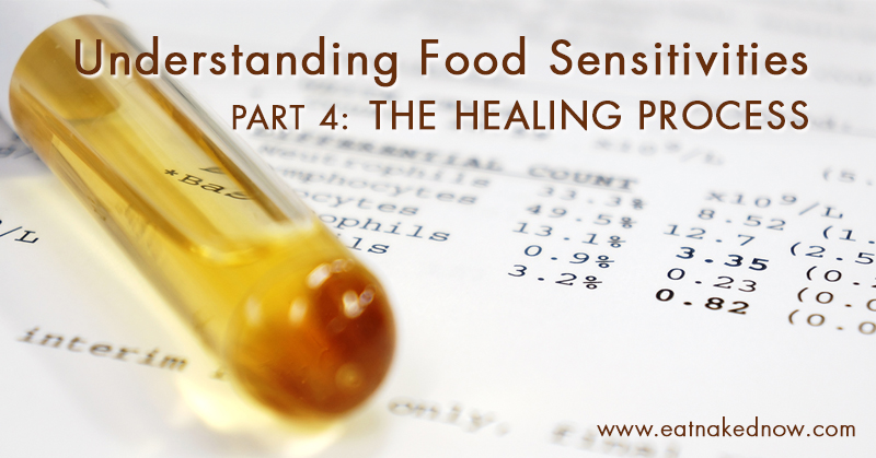 Understanding Food Sensitivities Part 4 – The Healing Process