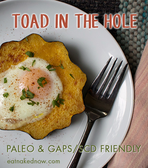 Toad in the Hole - Paleo, GAPS, and SCD Friendly  |  eatnakednow.com