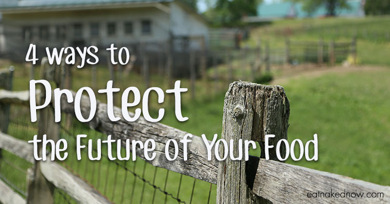 Four Ways to Protect the Future of Your Food