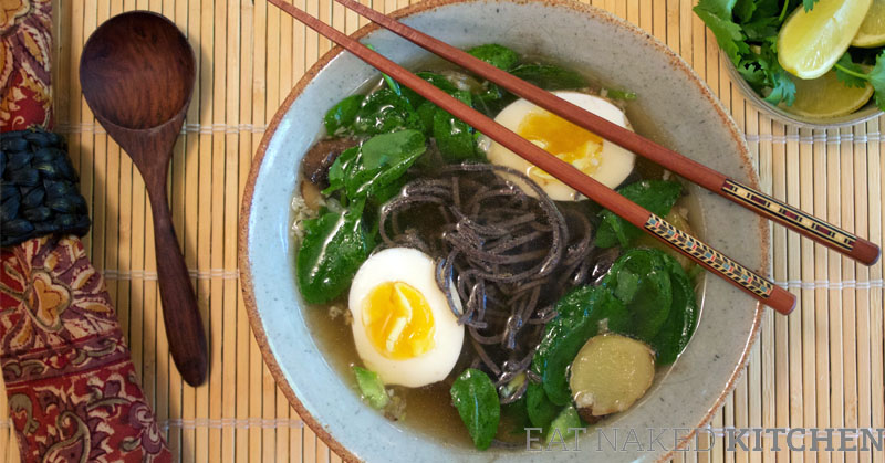 Asian Noodle Soup (+ amazing new bone broth resource)
