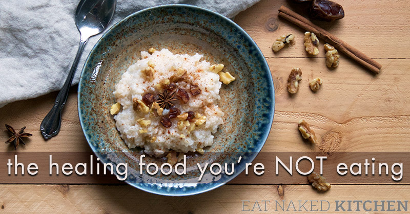 The healing food you're NOT eating.