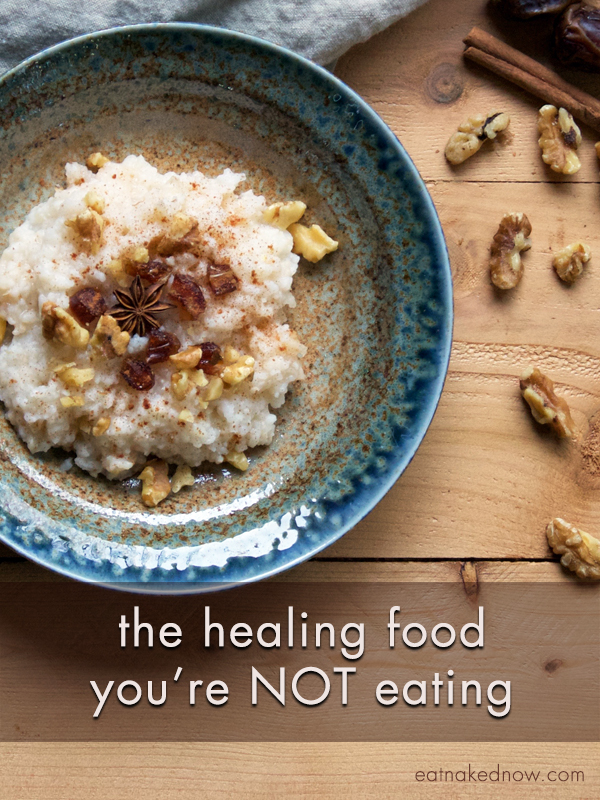 The healing food you're NOT eating | eatnakednow.com