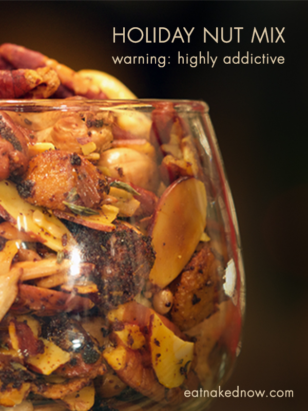 Holiday Nut Mix : crazy addictive!!! Gluten free and refined sugar free