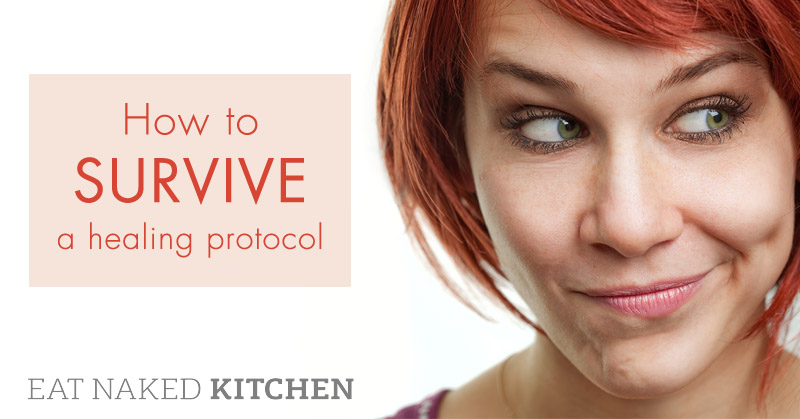 How to survive a healing protocol