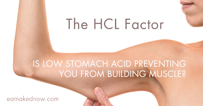 The HCl Factor: Is low stomach acid preventing you from building muscle? | eatnakednow.com