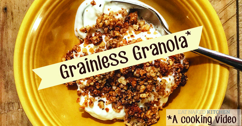 Grainless Granola: A KiDs Can Cook video!