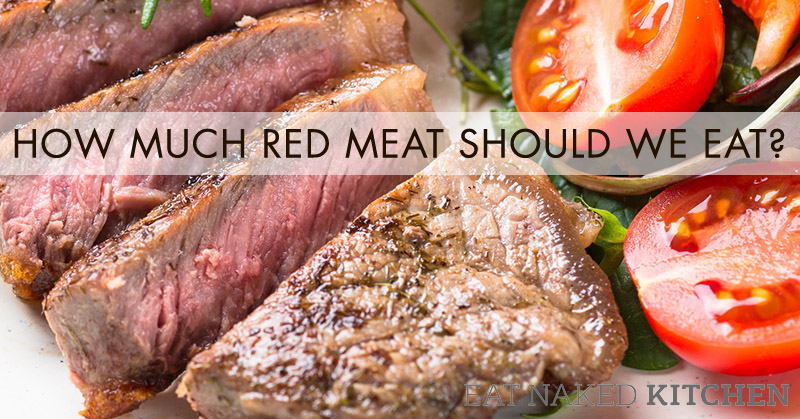 How much red meat should I eat?