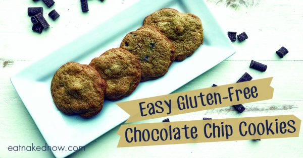 Easy Gluten-Free Chocolate Chip Cookies | eatnakednow.com