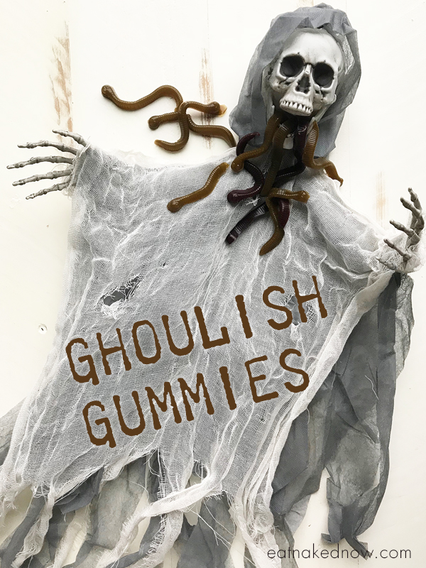 ghoulish-gummy-worms-a-kids-can-cook-video | eatnakednow.com